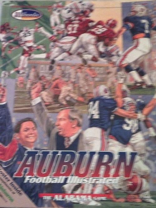 1995 Iron Bowl Game Program - Auburn vs. Alabama