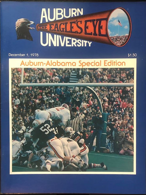 The Eagle's Eye - Dec. 1, 1978 Iron Bowl Special - Mint