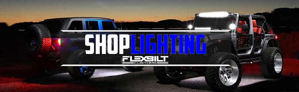 shop lighting at FlexBilt Customs