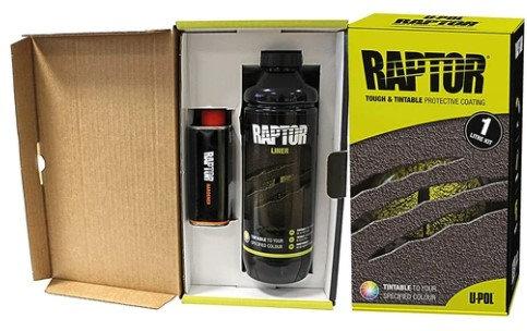Raptor Liner Urethane Spray-On Bed Liner ONE Bottle Kit