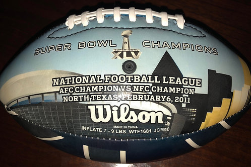 2011 Super Bowl Commemorative NFL Collectors Football