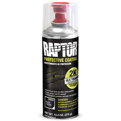 Raptor Liner Touch-Up Spray Can, 13.02 Oz