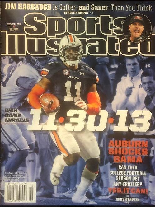 "Sports Illustrated ""War Damn Miracle"" Chris Davis MINT magazine"