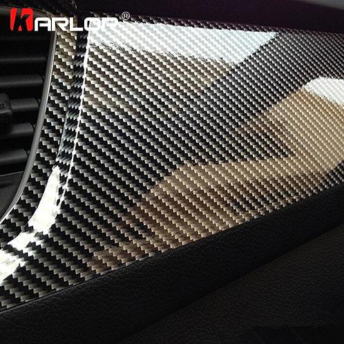 High Gloss 5D Carbon Fiber Wrap