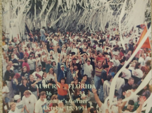 "11"" AU vs FL 1994 Victory at Toomers Photo"