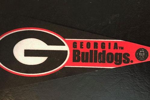 "Georgia Bulldogs 9"" Pennant"