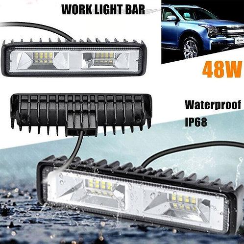 2-Piece 48W LED Truck or Jeep Mini-Light Bar