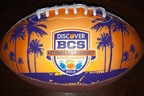 2013 BCS National Championship Commemorative Football