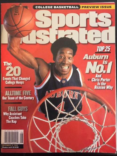 Chris Porter Sports Illustrated Magazine - AU Preseason #1