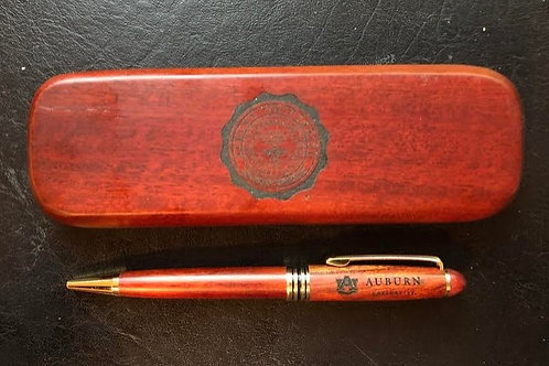 Auburn University Engraved Professional Pen - Black Ink