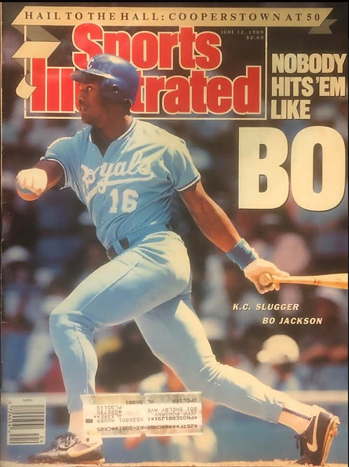 Sports Illustrated Bo Jackson - June 12, 1989 ORIGINAL