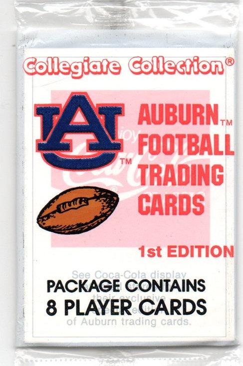 Auburn Football Trading Cards - 1st Edition