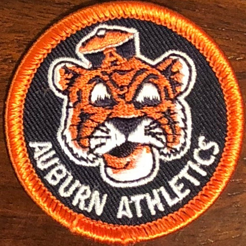 "Auburn Athletics Embroidered 2"" Patch"