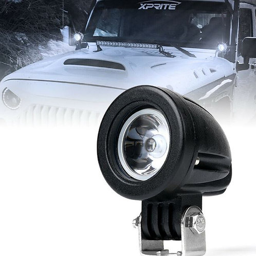 "2"" Round Spot Light Beam Fog Light Pods, 10W LED's"