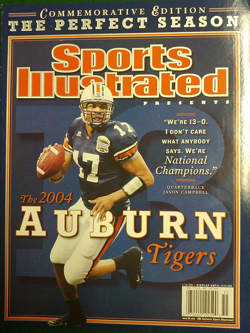 1/14/05 Sports Illustrated AU Collector's Magazine