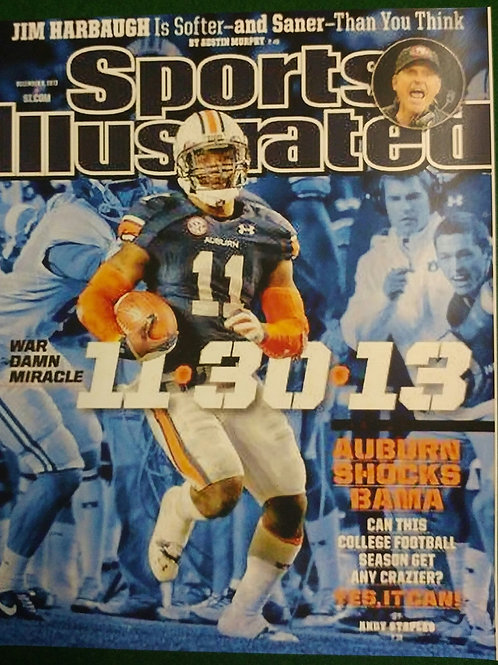 Sports Illustrated Photo Cover of AU vs AL 2013