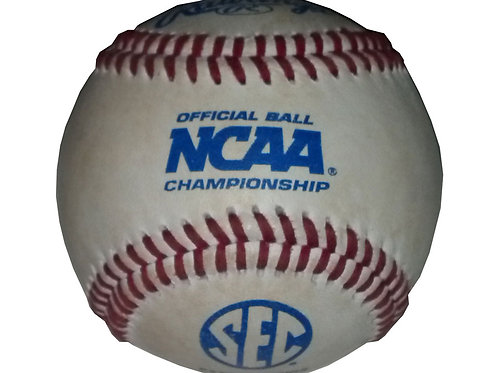 "2014 Auburn Tiger Official ""game used"" Baseball"
