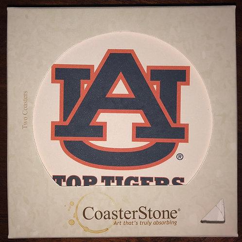 Auburn TOP TIGERS Coaster Set (2)