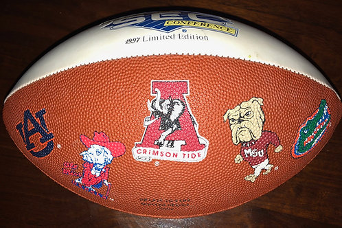 1997 SEC Collectors Football - Shoney's