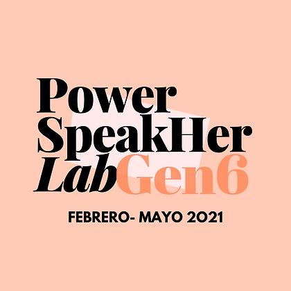 PowerSpeakher Lab: Gen.6 (Contado)