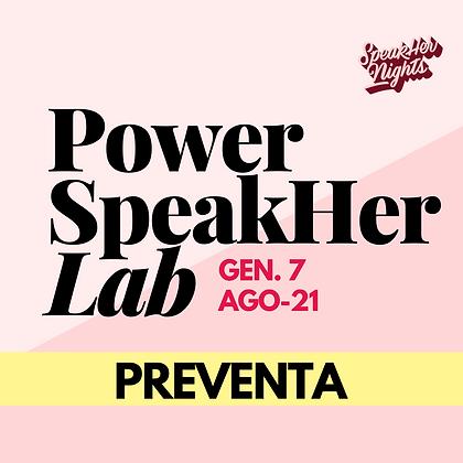 PowerSpeakher Lab: Gen.7