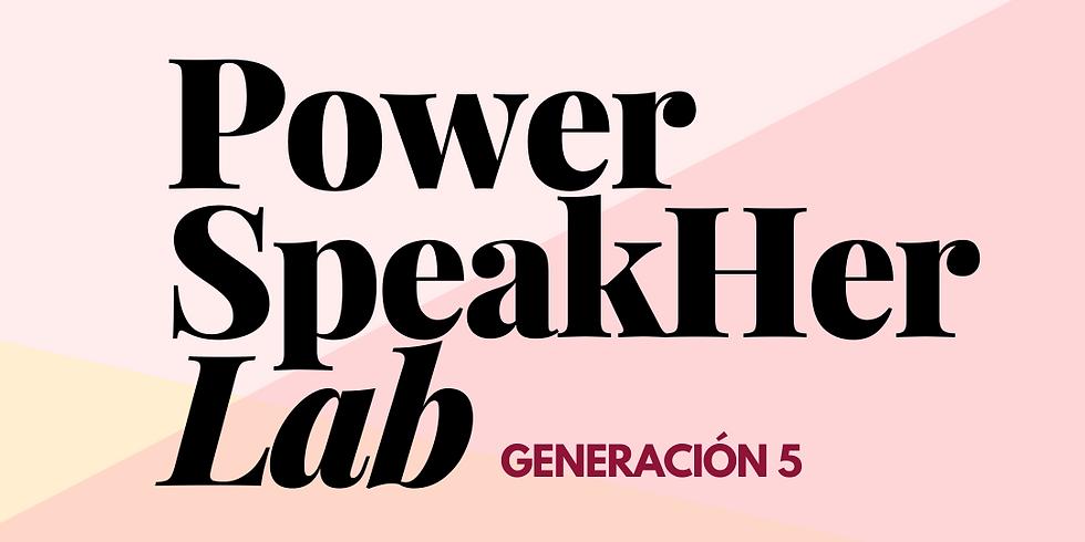 Arranque Power Speakher Lab