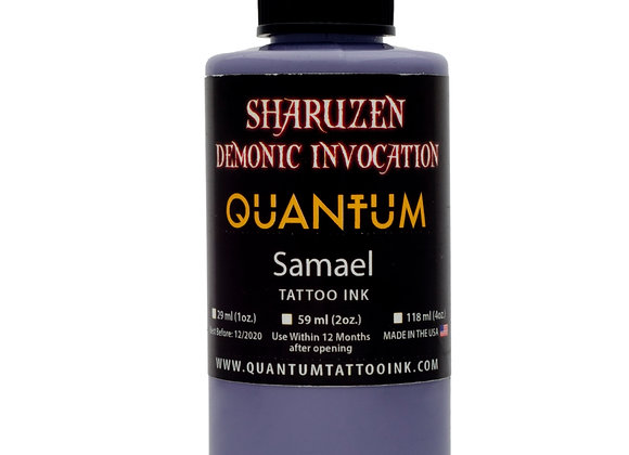SHARUZEN DEMONIC INVOCATION - SAMAEL TATTOO INK