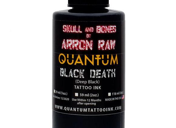 ARRON RAW SKULL & BONES BLACK DEATH