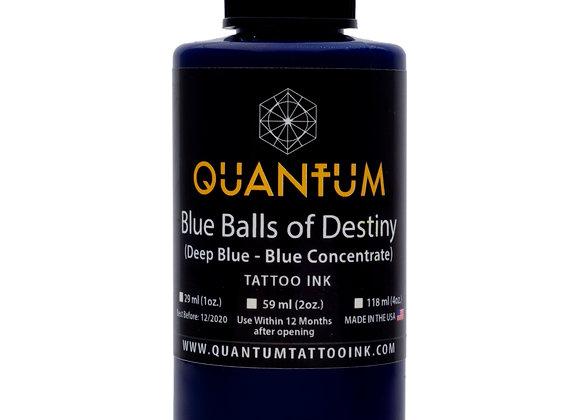BLUE BALLS OF DESTINY TATTOO INK