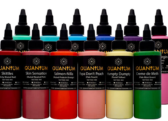 PASTEL TATTOO INK SET 12 COLORS
