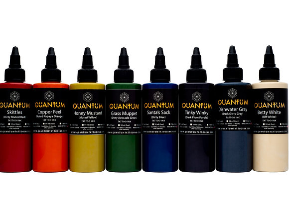 MUTED BASIC TATTOO INK SET 8 COLORS