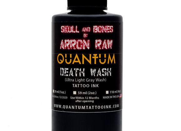 ARRON RAW SKULL & BONES INDIVIDUAL GREYWASH BOTTLES - ULTRA LIGHT