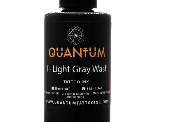 LIGHT GRAY WASH TATTOO INK