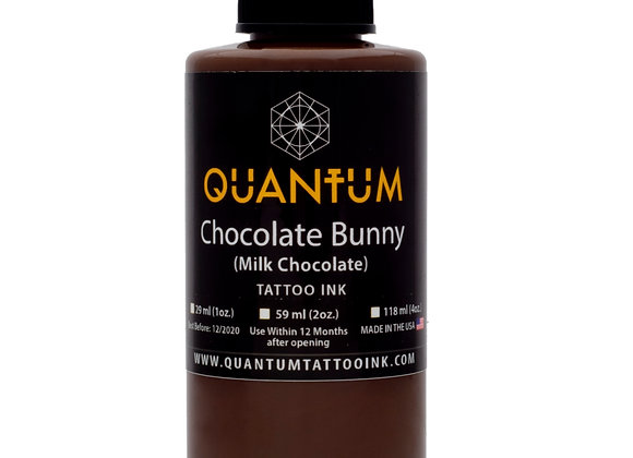 CHOCOLATE BUNNY TATTOO INK