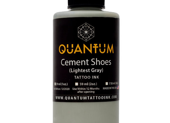CEMENT SHOES TATTOO INK