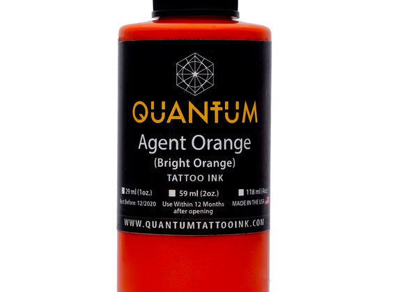 AGENT ORANGE TATTOO INK