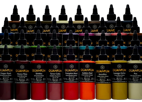 APOCALYPSE TATTOO INK SET 35 COLORS