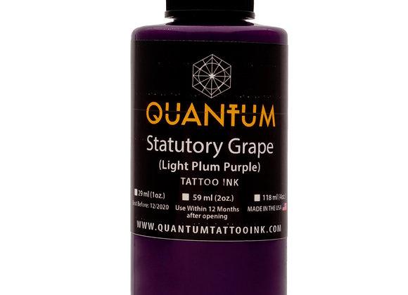 STATUTORY GRAPE TATTOO INK