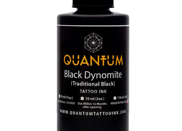 BLACK DYNOMITE TATTOO INK