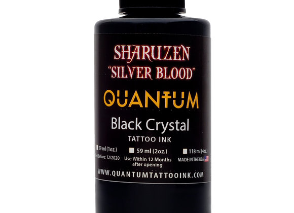 SHARUZEN SILVER BLOOD BLACK CRYSTAL