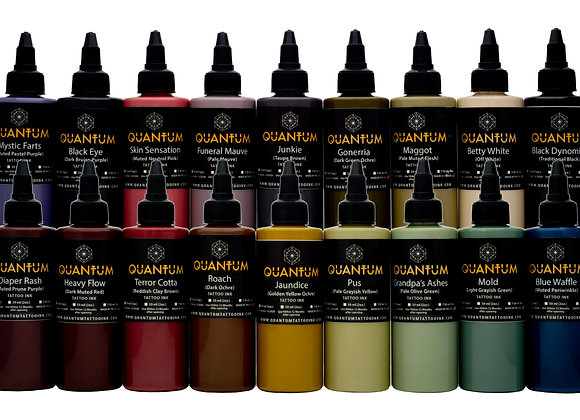 ROTTING FLESH TATTOO INK SET 18 COLORS