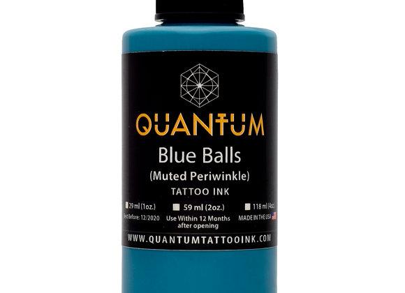 BLUE BALLS TATTOO INK