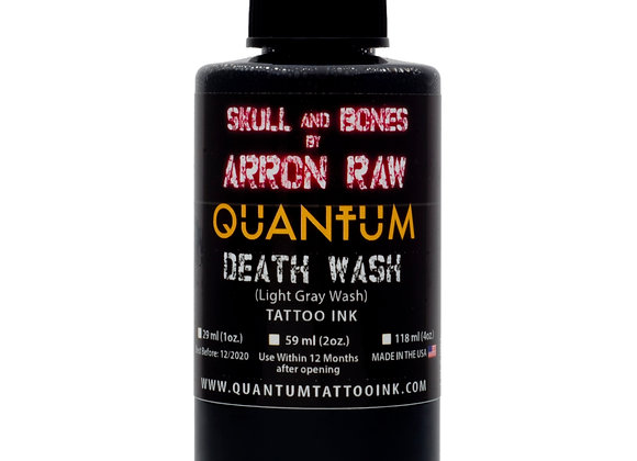 ARRON RAW SKULL & BONES INDIVIDUAL GREYWASH BOTTLES - LIGHT