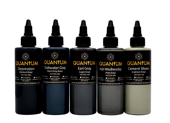 TATTOO INK OPAQUE GRAY SET