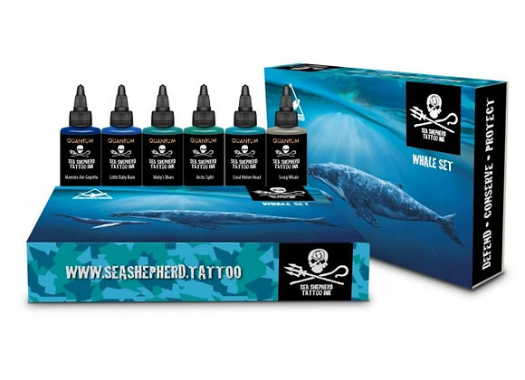SEA SHEPHERD WHALE SET OF 6