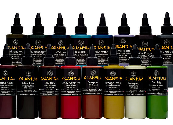 ZOMBIE TATTOO INK SET 16 COLORS