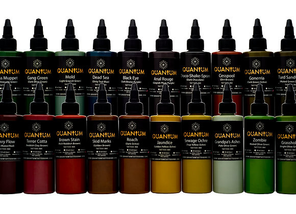 EARTH TATTOO INK SET 20 COLORS