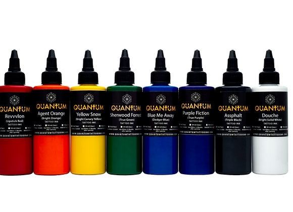 BASIC TATTOO INK SET 8 COLORS