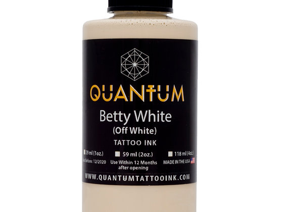 BETTY WHITE (OFF WHITE) TATTOO INK