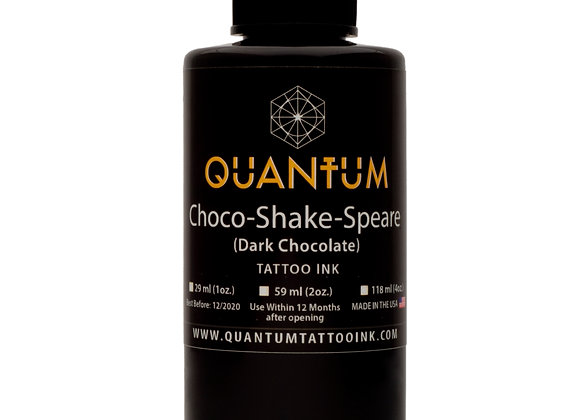 CHOCO-SHAKE-SPEARE TATTOO INK